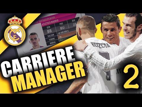 FIFA 17 - REAL MADRID - CARRIÈRE MANAGER - 115,000,000€ POUR GRIEZMANN ! #EP.2