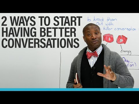 The 2 essential skills you need for great conversations