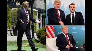 Donald Trump's puffed out chest a power pose to 'drive rival G7 leaders into submission',