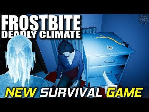 First Look New Survival Game | Frostbite Deadly Climate | EP1