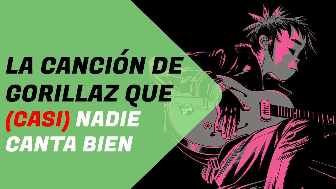 La ILUSIÓN SONORA de esta canción de GORILLAZ