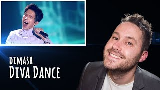 Dimash - Diva Dance | REACTION