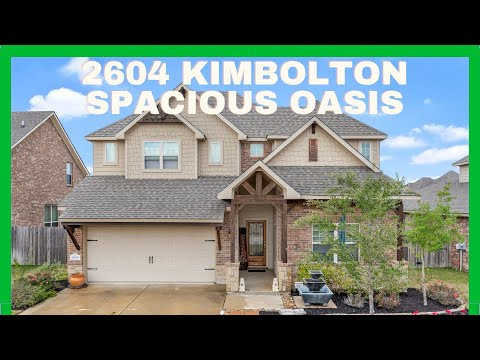 2604 Kimbolton in Castlegate 2 in College Station Just Listed