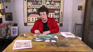 Pieced Stars- Freezer Paper Piecing & Freezer Paper Templates- Jan Patek