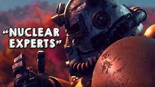 """""""Nuclear War Experts Are Horrified by 'Fallout 76'"""""""