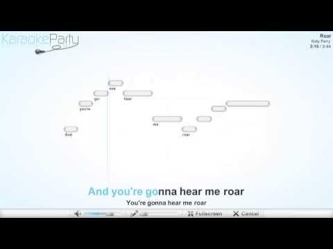 Katy Perry - Roar - karaoke