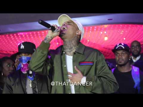 "Chris Brown ""Back To Sleep"" Live In Miami"