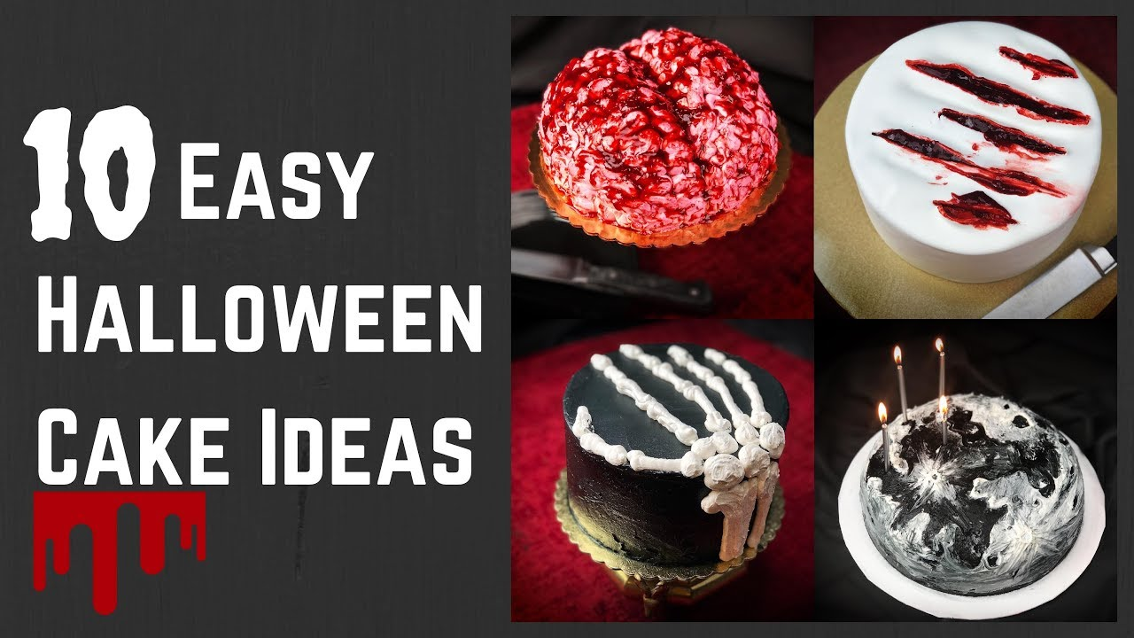 10 Easy Halloween Cake Decorating Ideas