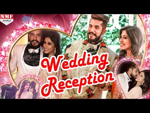 Kishwer Merchant & Suyyash Rai's Grand  Wedding Reception -