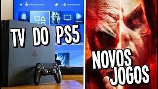 TV do PS5 / SONY LANÇA NO BRASIL É CARO / +JOGOS NO GAME PASS E MAIS!!