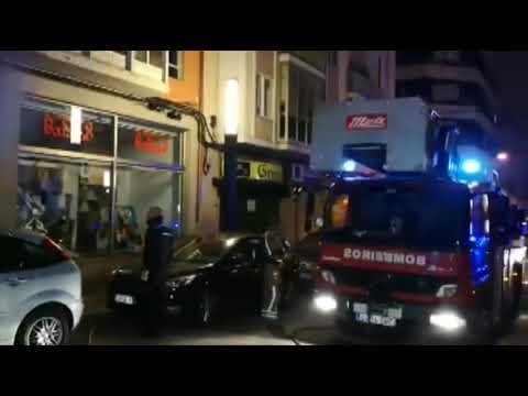 5 intoxicados en un incendio en la calle Greco 10 12 18