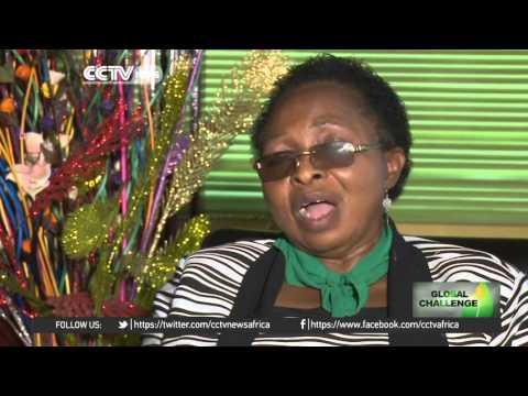 Authorities in Nigeria's Lagos city plant trees to mitigate impact