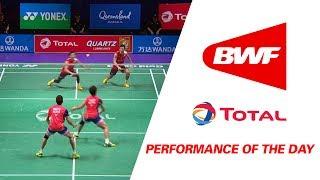 Performance Of The Day | Badminton Day 6 Grp 1 QF – JPN vs MAS - TOTAL BWF Sudirman Cup 2017 thumbnail