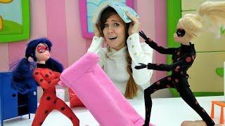 Ana visita a Marinette. Vídeos de juguetes para niñas