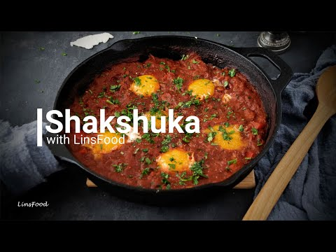 Shakshuka (a Middle Eastern Vegetarian One Pot Meal)