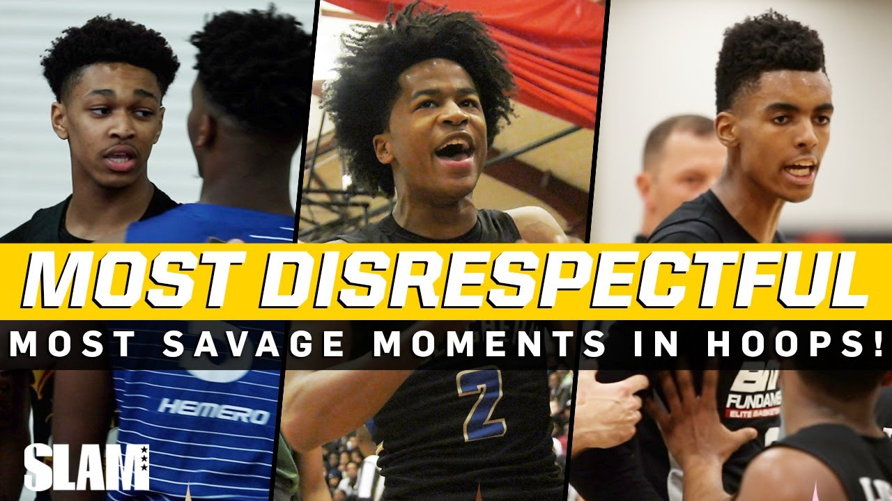 The MOST DISRESPECTFUL Moments in Basketball! Sharife Cooper, Jalen Green, Dior Johnson, & More!