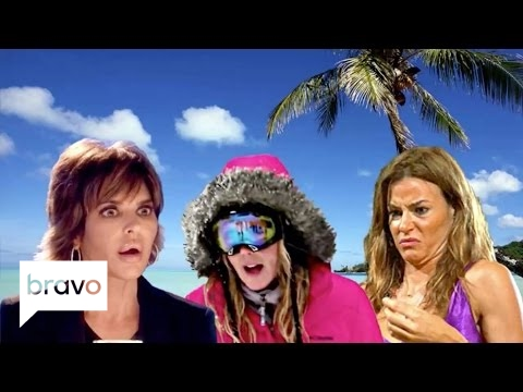 The 5 Most Iconic Real Housewives Vacations | Real Housewives | Bravo
