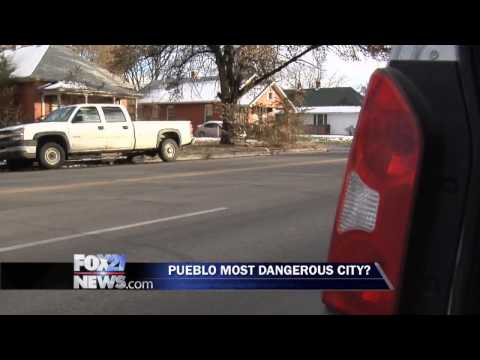 Pueblo most dangerous city in Colorado?