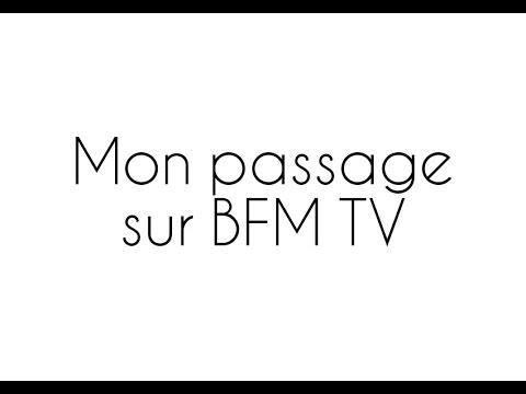 Les compléments alimentaires :  Mon passage sur BFMTV