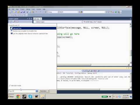 SDL Tutorial 9 SDL_ttf Tutorial: Rendering Text