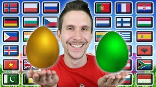 How To Say \\\x22HAPPY EASTER!\\\x22 in 36 Different Languages