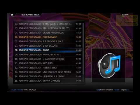 XBMC quickstart video tutorial - video and audio basic functions.