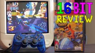 Crash Nitro Kart Review - 16 Bit Game Review