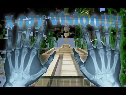 X-Ray Vision In MCPE!!?!