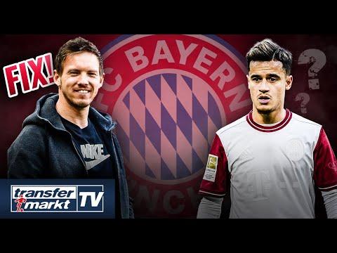 Bayern macht Nagelsmann-Transfer perfekt – Rückkehr von Coutinho? | TRANSFERMARKT