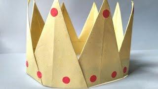 Орігамі Корона з Паперу