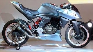 TVS Concept Bikes- Akula 310, EntorQ 210, X21 Walk Around Review Fr...