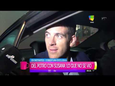 Del Potro contó si fue verdad o no la invitación a Miami que le hizo a Susana