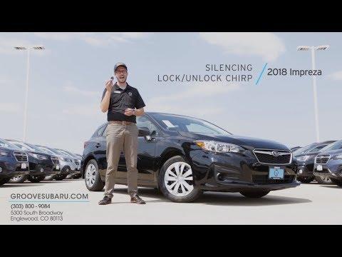 How To: Change the Lock/Unlock beep on your Subaru