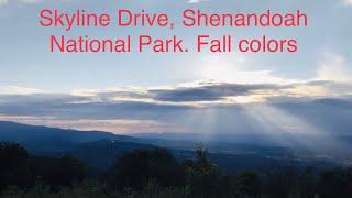 Matt's playtime fall dive down skyline drive Virginia
