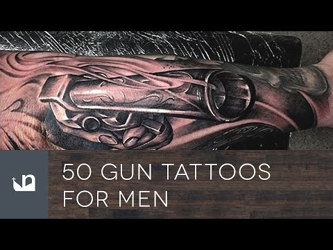 50 Gun Tattoos For Men