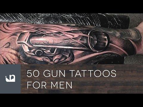 50 Gun Tattoos For Men