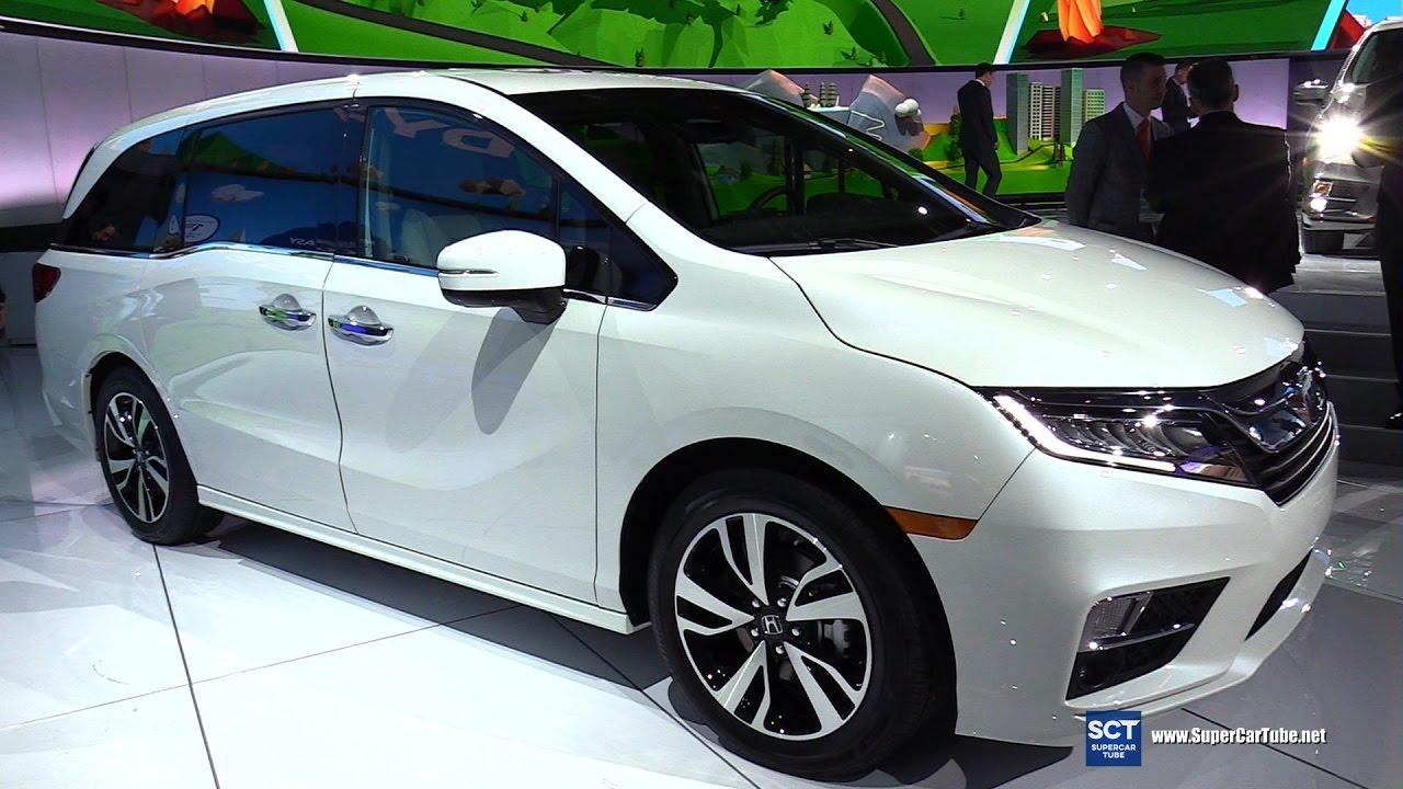 2018 honda odyssey elite exterior interior walkaround for Detroit auto show honda odyssey