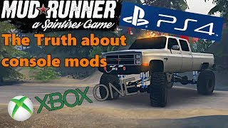 SpinTires Mud Runner: THE TRUTH About Console Mods