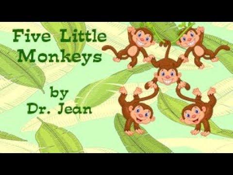 Five Little Monkeys by Dr  Jean