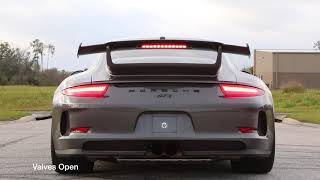 SOUL | 991 GT3 Modular Competition Exhaust Package