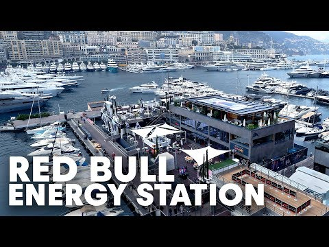Constructing a floating building in 32 HOURS   Red Bull F1 Energy Station