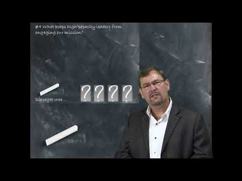 VTT 2017; Vasgelooptheid in Gemeentes- Ds.  Hannes janse van Rensburg
