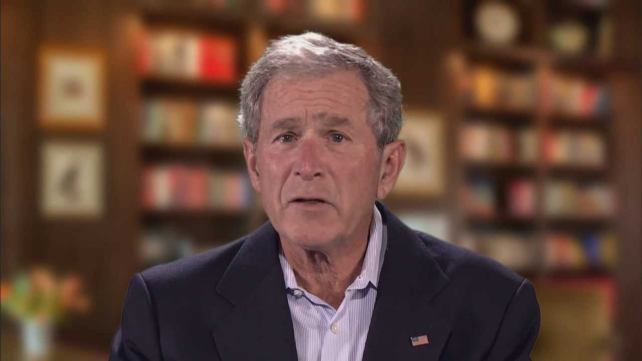 a veterans day message from president george w bush
