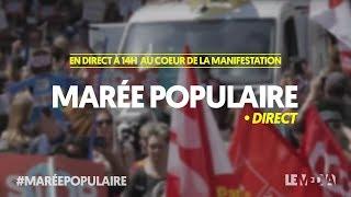 LA MARÉE POPULAIRE : LE MÉDIA AU COEUR DE LA MANIFESTATION