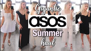 HUGE ASOS SUMMER CLOTHING HAUL 2020 | Maxi dresses, jumpsuits and shoes