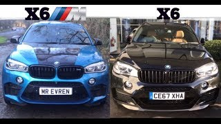 THE DIFFERENCE BETWEEN A BMW X6 And X6M (4K)