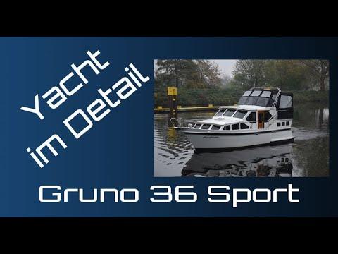 Gruno 36 Sport Präsentation - Yacht im Detail (walkthrough) - motor boat presentation