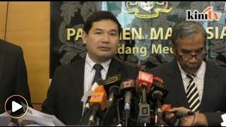 """""""Syarikat modal RM2 boleh tandatangan kontrak RM46 bilion?"""" soal Rafizi"""
