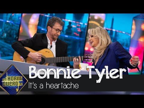 Bonnie Tyler interpreta 'It's a heartache' con Pablo Motos a la guitarra - El Hormiguero 3.0