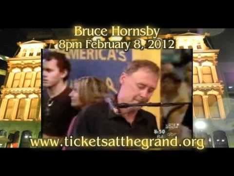 Cafe: Bruce Hornsby at the Grand 2-8-12
